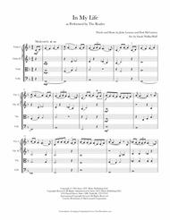 In My Life (String Quartet)