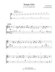 Simple Gifts - for 3-octave handbell choir