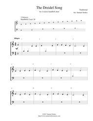 The Dreidel Song (I Have a Little Dreidel) - for 3-octave handbell choir