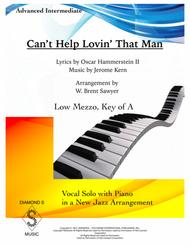 Can't Help Lovin' Dat Man - PIANO/VOCAL (key of A)
