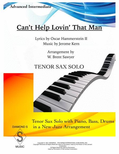 Can't Help Lovin' Dat Man - TENOR SAX - INSTRUMENTAL PACK (Tenor Sax Solo, Piano, Bass, Drums)