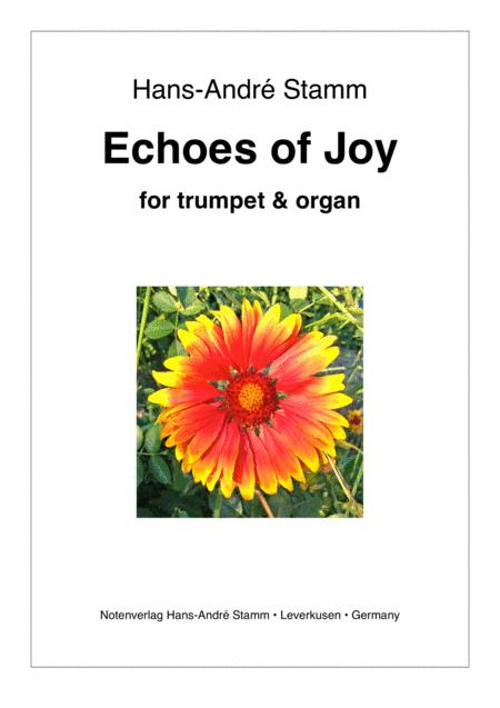 Echoes of Joy for trumpet & organ