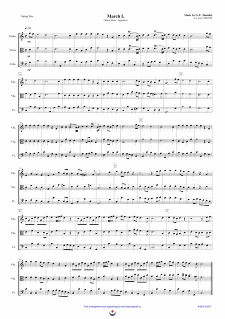 Marches (Water Music)