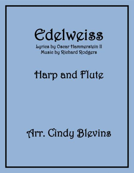 Edelweiss, arranged for Harp and Flute