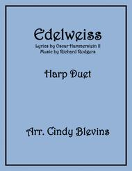 Edelweiss, arranged for Harp Duet (Piano can play too!)