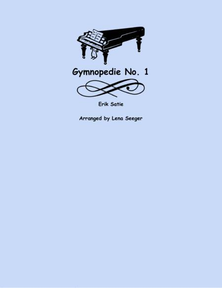 Gymnopedie No. 1 (two violins and cello)