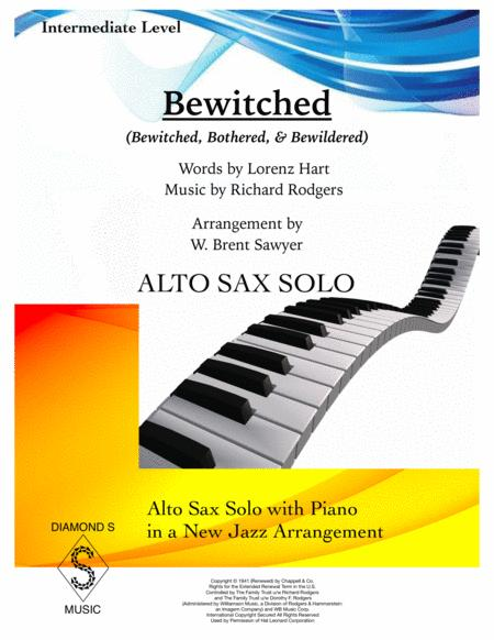 Bewitched - ALTO SAX SOLO with Piano