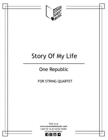 Story Of My Life String Quartet