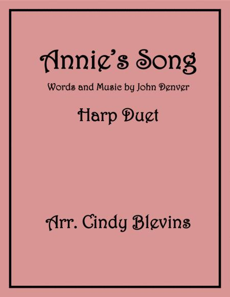 Annie's Song, for Harp Duet (Piano can play too!)