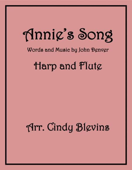 Annie's Song, for Harp and Flute Duet