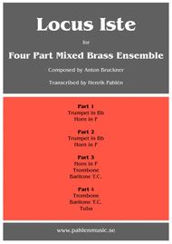 Locus Iste for Brass Ensemble