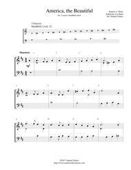 America, the Beautiful - for 2-octave handbell choir