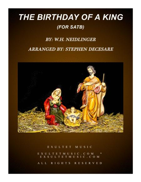 The Birthday Of A King (for SATB)