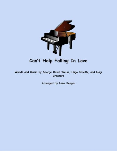 Can't Help Falling In Love (flute and piano)
