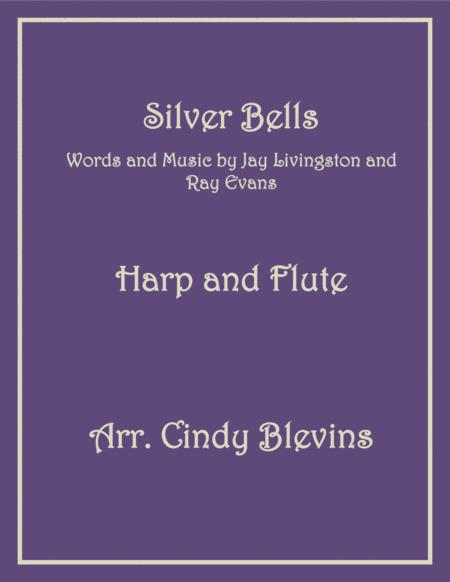 Silver Bells, arranged for Harp and Flute