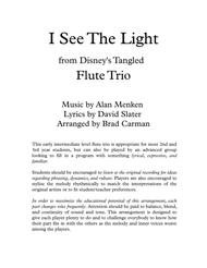 I See The Light for Flute Trio