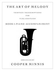 The Art of Melody:  13 Song Transcriptions for Tuba- Piano Accompaniment