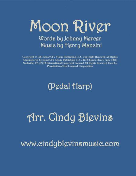 Moon River, arranged for Pedal Harp