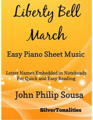 Liberty Bell March Easy Piano Sheet Music