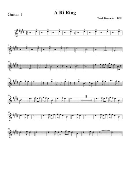 A Ri Rang: Guitar Part 1