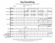 Say Something (Percussion Ensemble)