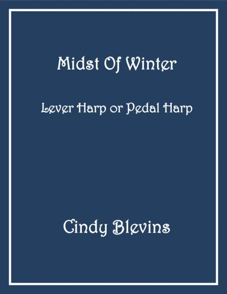 Midst of Winter, an original piece for Lever or Pedal Harp, from my book