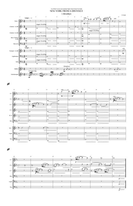 new york from a distance music sheet | free sheet music sources  featured music sheet