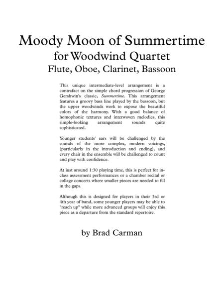 Moody Moon of Summertime