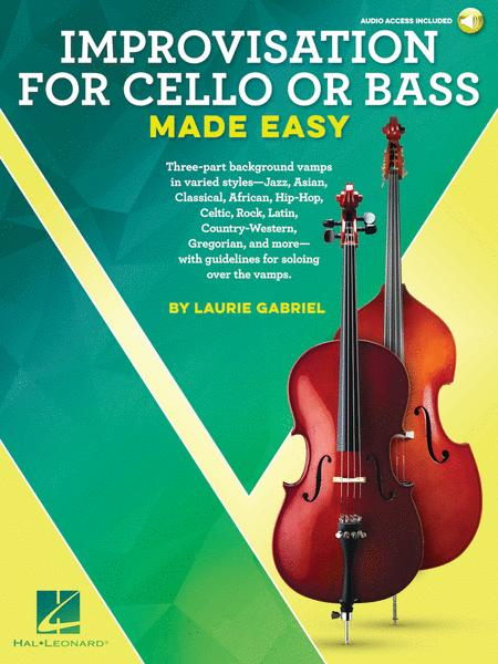 Improvisation for Cello or Bass Made Easy