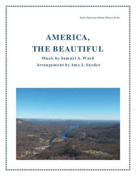 America, the Beautiful, piano solo