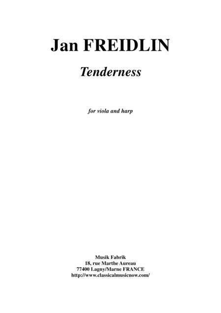 Jan Freidlin: Tenderness for viola and harp