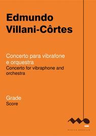 Concerto para vibrafone e orquestra (grade)