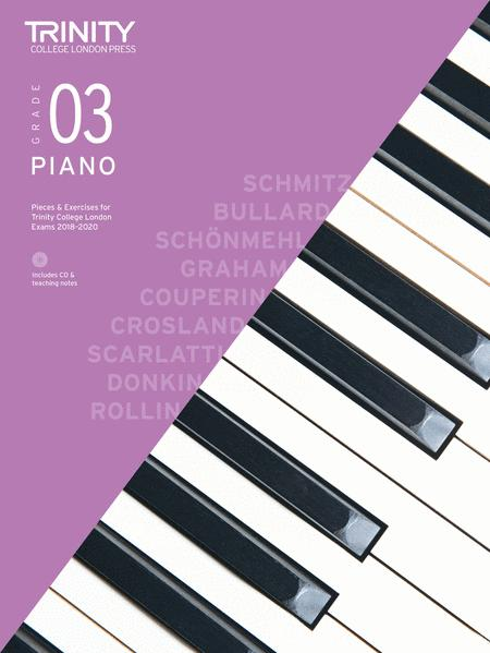 Piano Exam Pieces & Exercises 2018–2020: Grade 3 (book, CD & teaching notes)