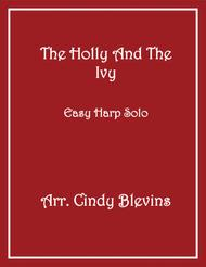 The Holly and the Ivy, arranged for Easy Harp (Lap Harp Friendly), from my book