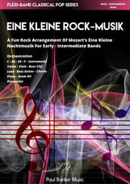 Eine Kleine Rock-Musik (Flexi-Band Score & Parts)