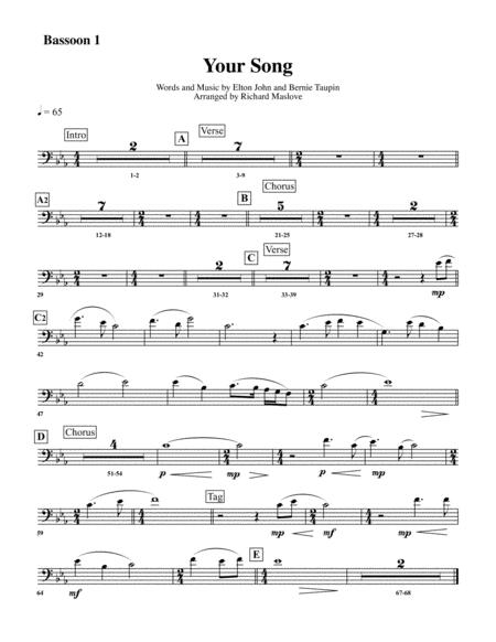 Elton John Your Song Chords Gallery Chord Guitar Finger Position