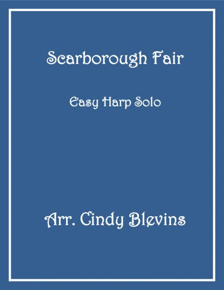 Scarborough Fair, arranged for Easy Harp (Lap Harp Friendly), from my book