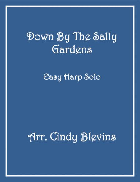 Down By the Sally Gardens, arranged for Easy Harp (Lap Harp Friendly), from my book