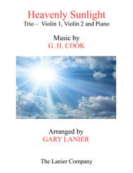 HEAVENLY SUNLIGHT (Trio - Violin 1 & 2 and Piano with Score/Parts)