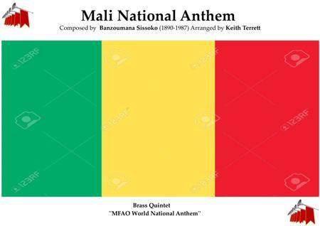Mali National Anthem for Brass Quintet