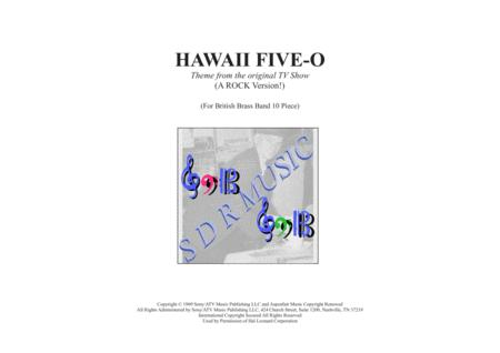 Hawaii Five-O Theme for Brass Band 10/11 piece