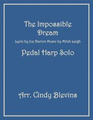 The Impossible Dream, arranged for Pedal Harp