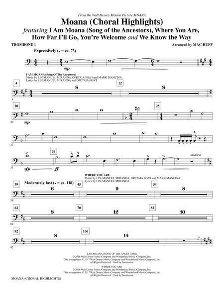 Moana - Trombone 1