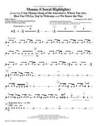Moana - Percussion 1