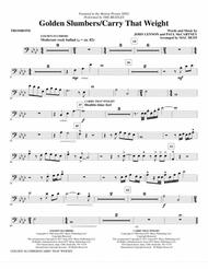 Golden Slumbers/Carry That Weight (from Sing) (arr. Mac Huff) - Trombone