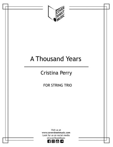 A Thousand Years String Trio