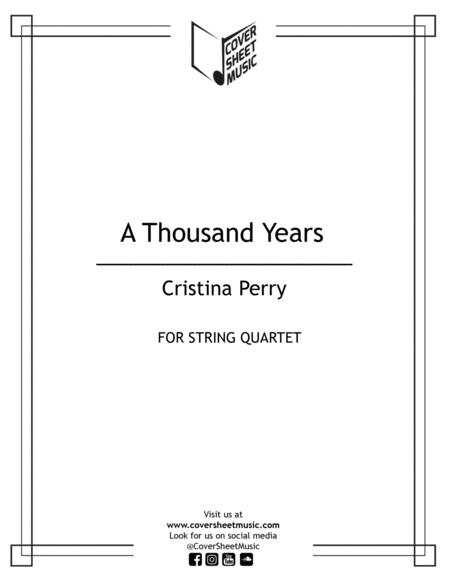 A Thousand Years String Quartet
