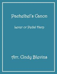 Pachelbel's Canon, arranged for Lever or Pedal Harp, from my book