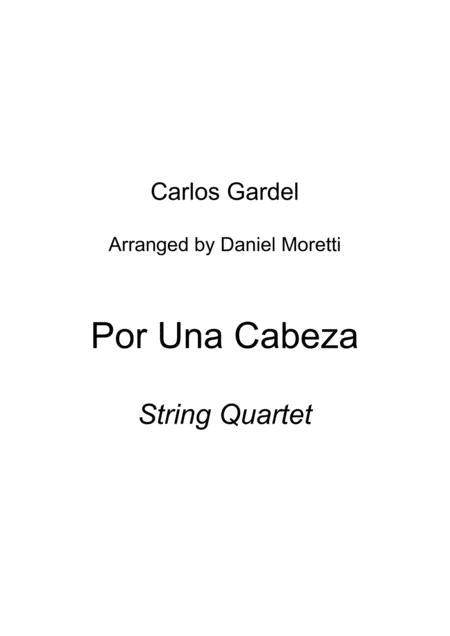Por una cabeza - String Quartet