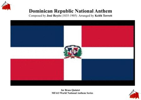 The Dominican Republic National Anthem for Brass Quintet